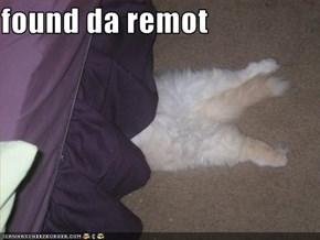 found da remot