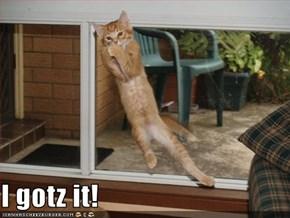 I gotz it!