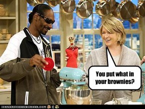 You put what in your brownies?