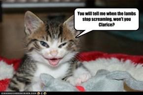 Hannibal Lecter's cat