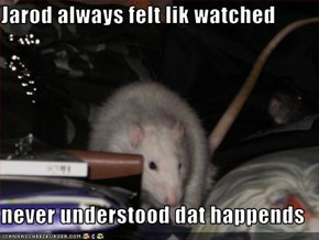 Jarod always felt lik watched  never understood dat happends