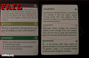 Eco Board Game Trivia Fail
