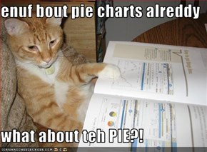 enuf bout pie charts alreddy  what about teh PIE?!