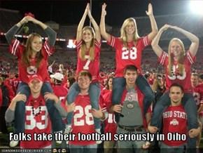 Folks take their football seriously in Oiho