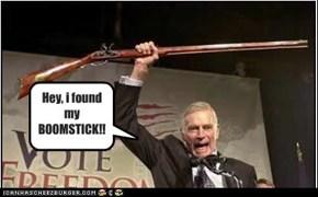i found my BOOMSTICK!