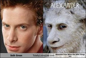 Seth Green Totally Looks Like Alexander from Where the Wild Things Are