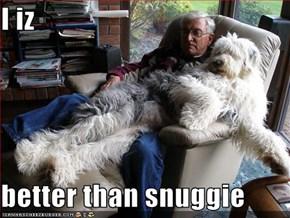 I iz    better than snuggie