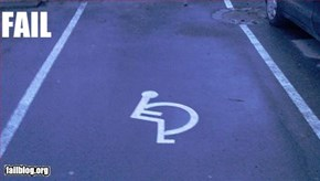 Handicap Fail