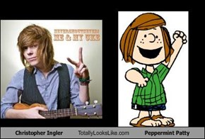 Christopher Ingler Totally Looks Like Peppermint Patty