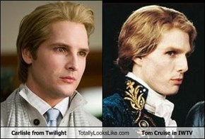 Carlisle from Twilight Totally Looks Like Tom Cruise in IWTV