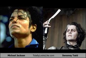 Michael Jackson Totally Looks Like Sweeney Todd