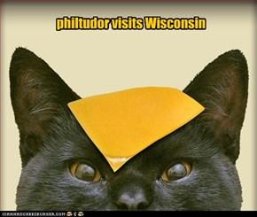 philtudor visits Wisconsin