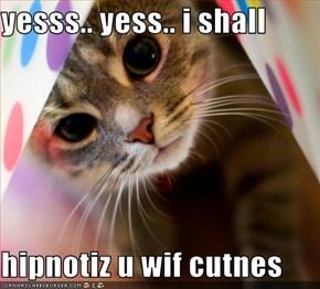 yesss.. yess.. i shall  hipnotiz u wif cutnes