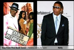 Guy from This Book Cover Totally Looks Like Nelly
