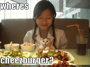 wheres  cheezburger?