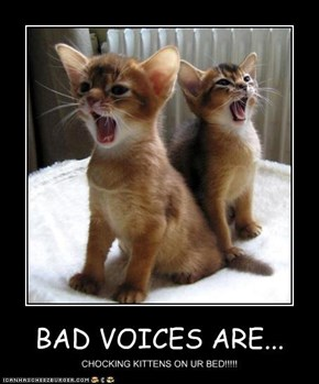 BAD VOICES ARE...