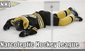 NHL  Narcoleptic Hockey League