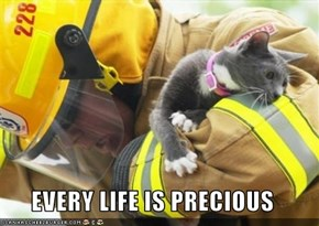 EVERY LIFE IS PRECIOUS