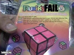 Rubiks Cude Fail