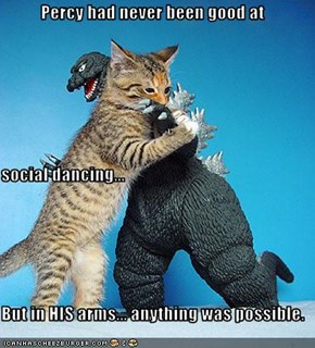 Percy had never been good at social dancing... But in HIS arms... anything was possible.