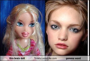 this bratz doll Totally Looks Like gemma ward