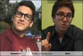 Kassem G Totally Looks Like Amir