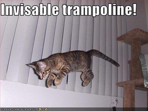 Invisable trampoline!