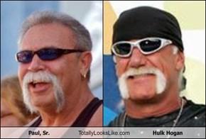 Paul, Sr. Totally Looks Like Hulk Hogan