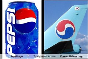 Pepsi Logo Totally Looks Like Korean Airlines Logo