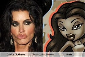Janice Dickinson Totally Looks Like Bratz