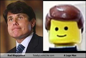 Rod Blagojevich Totally Looks Like A Lego Man