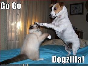 Go Go  Dogzilla!