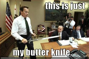 this is just  my butter knife.