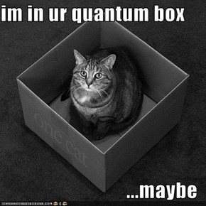 im in ur quantum box  ...maybe