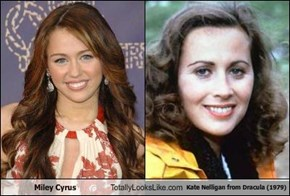 Miley Cyrus  Totally Looks Like Kate Nelligan from Dracula (1979)