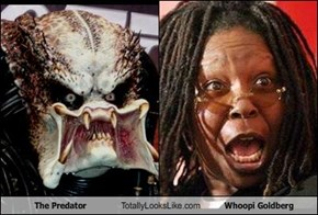 The Predator Totally Looks Like Whoopi Goldberg