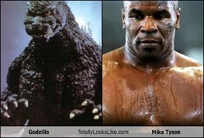 Godzilla Totally Looks Like Mike Tyson