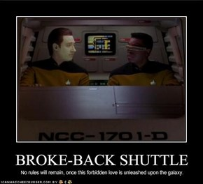BROKE-BACK SHUTTLE