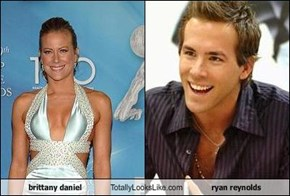 brittany daniel Totally Looks Like ryan reynolds