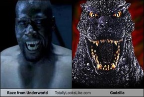 Raze from Underworld Totally Looks Like Godzilla