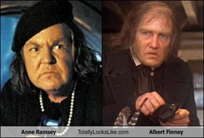Anne Ramsey  Totally Looks Like Albert Finney