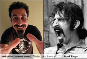 Serj Tankian (System of a Down) Totally Looks Like Frank Zappa