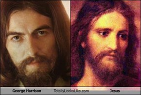 George Harrison Totally Looks Like Jesus
