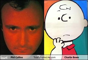 Phil Collins Totally Looks Like Charlie Bown