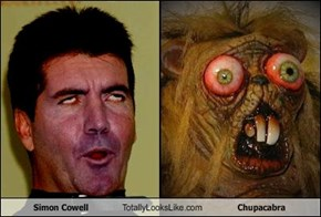 Simon Cowell Totally Looks Like Chupacabra