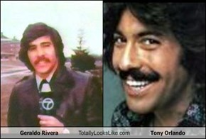 Geraldo Rivera Totally Looks Like Tony Orlando