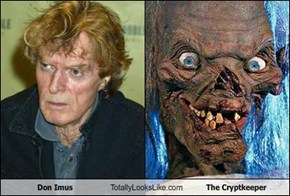 Don Imus Totally Looks Like The Cryptkeeper