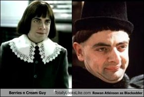 Berries n Cream Guy Totally Looks Like Rowan Atkinson as Blackadder