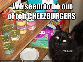 We seem to be out 