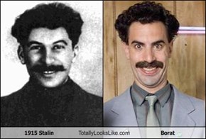 1915 Stalin Totally Looks Like Borat